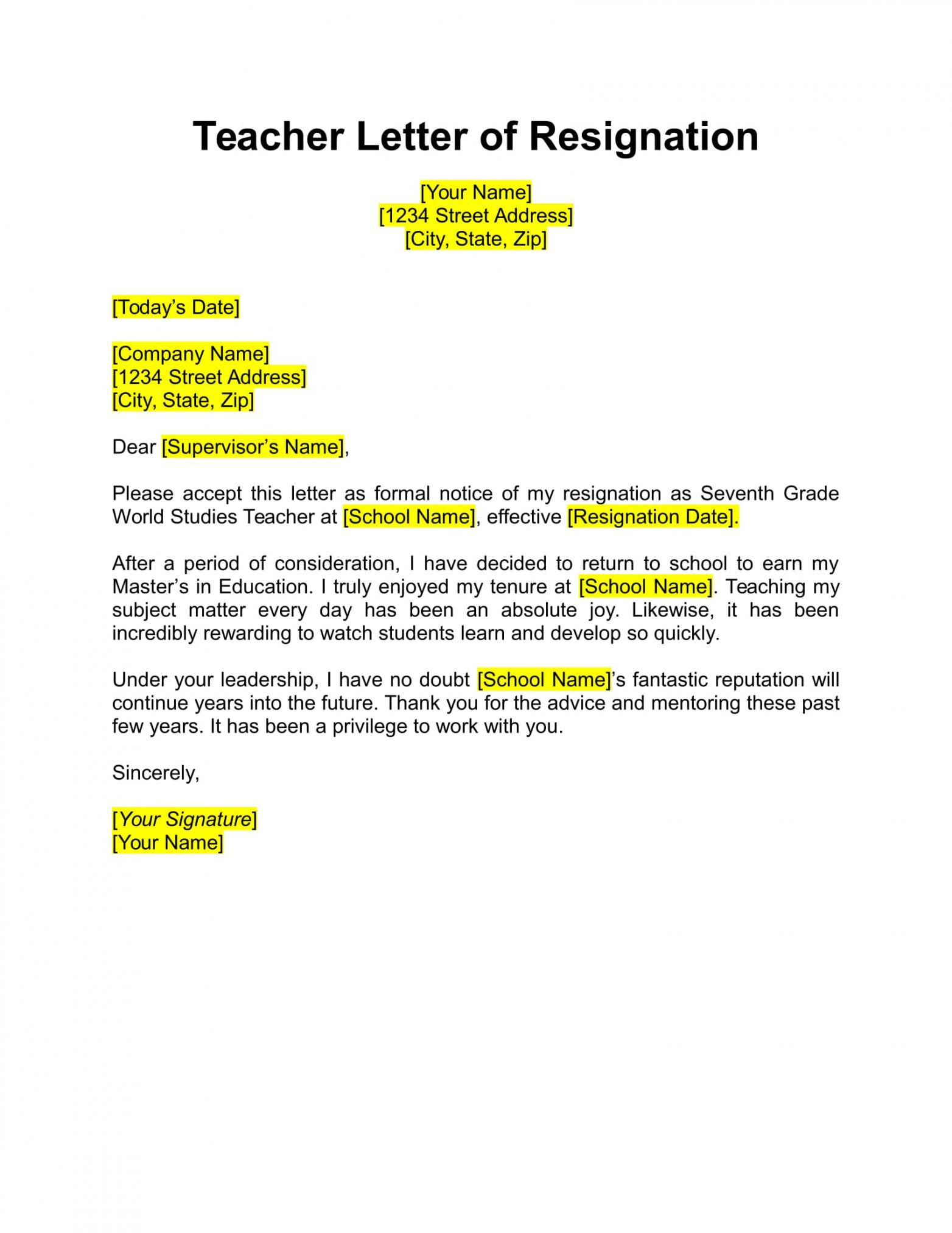 free 17 resignation letters examples in pdf  ms word  examples nurse leader resignation letter pdf