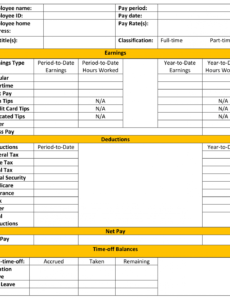 free free pay stub template tips & what to include pay stub template for independent contractor doc