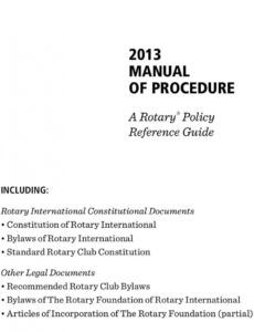 manual of procedure a rotary policy reference guide  pdf rotary club resignation letter word
