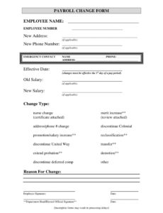 printable free 4 employee pay increase forms in ms word  pdf employee pay increase template pdf