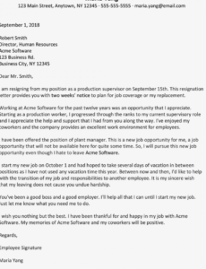printable sample resignation letter for a new job opportunity nurse resignation letter due to new job opportunity