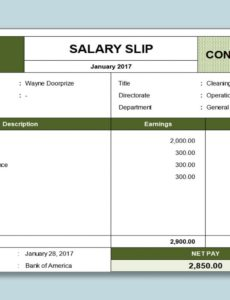 printable wps template  free download writer presentation salary payment slip template example
