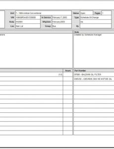 5 work order templates  free sample templates cleaning service work order template example