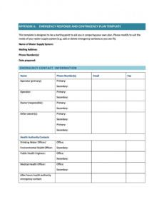 editable 40 detailed contingency plan examples & free templates payroll disaster recovery plan template sample