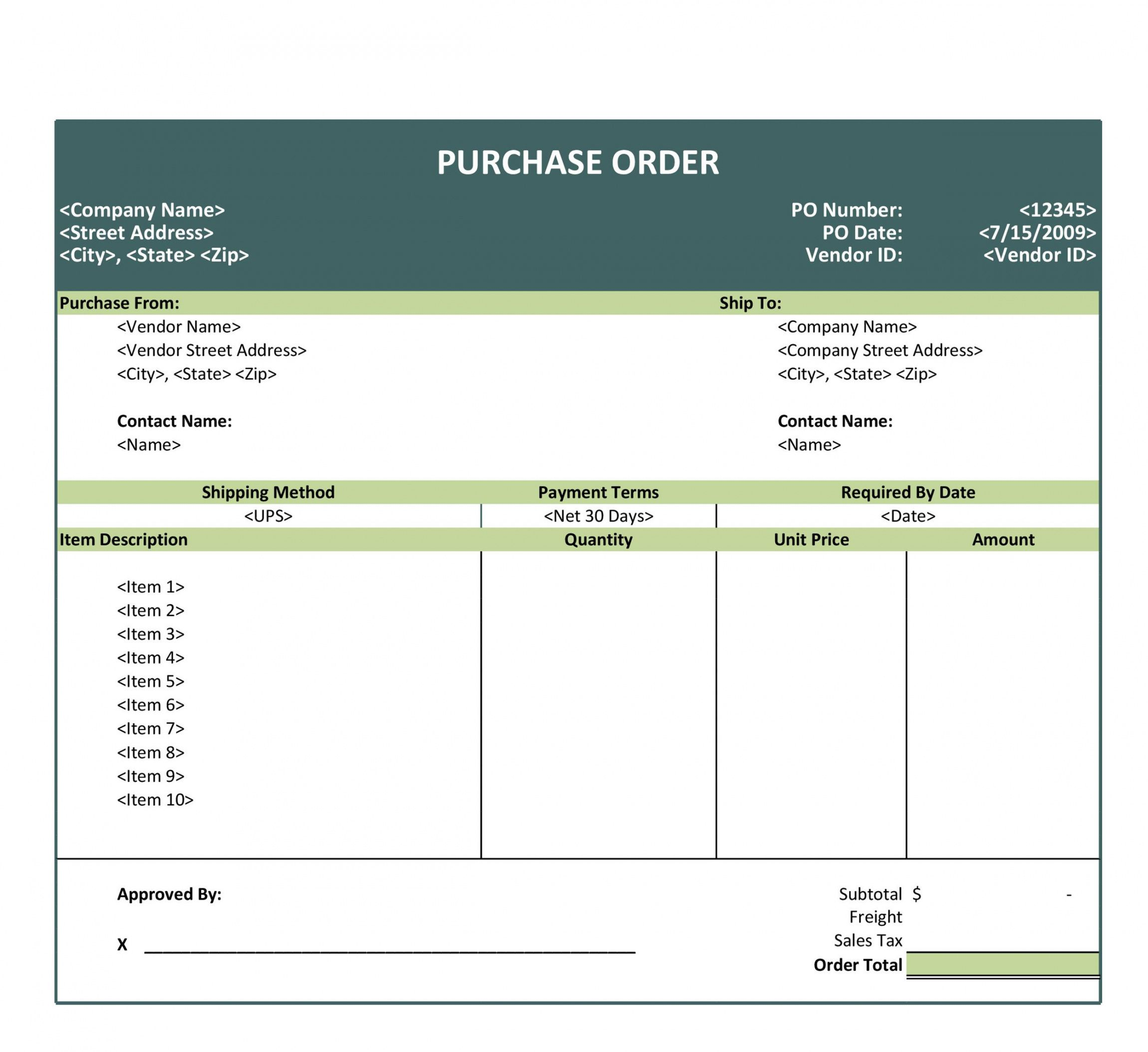 editable 43 free purchase order templates in word excel pdf international purchase order template excel