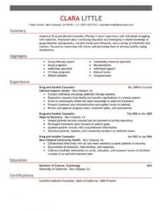 editable best drug and alcohol counselor resume example  livecareer chemical dependency treatment plan template doc