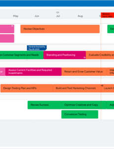 editable marketing strategy template  highlevel marketing plan marketing plan template for new product excel