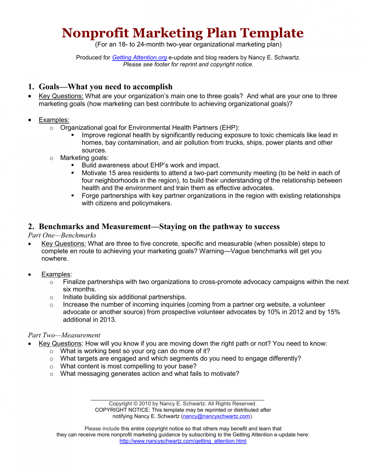 editable nonprofit marketing plan template ms word doc chamber of commerce marketing plan template example