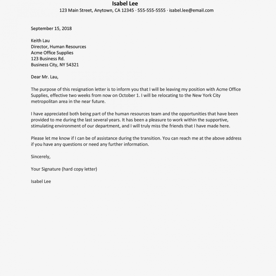 free 21 resignation letter template with reasons  best resignation letter template hostile work environment pdf