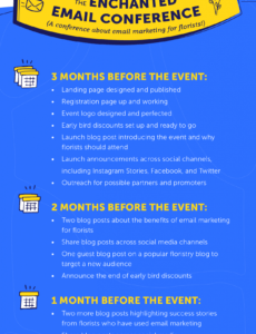 free event marketing plan create one that gets attendees template venue marketing plan template example