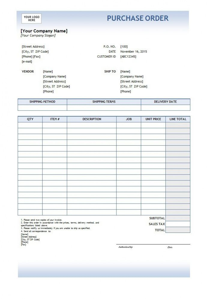 free free printable purchase order  template business psd excel electronic purchase order template word