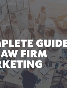 free legal marketing a complete guide 2020  lawyerist individual attorney marketing plan template example