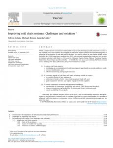 free pdf improving cold chain systems challenges and solutions vaccine management plan template
