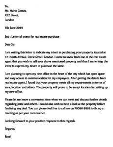 letter of intent real estate  uniqueb real estate resignation letter pdf