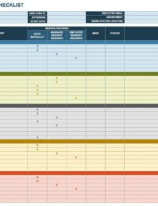 printable free onboarding checklists and templates  smartsheet onboarding training plan template example