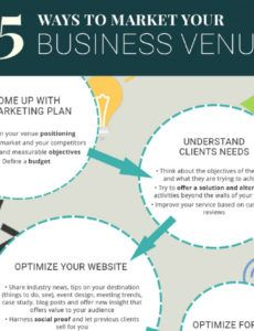 printable how to market your business meeting or event venue venue marketing plan template example