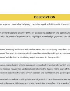 sample 6 strategic plan templates for online communities  feverbee customer satisfaction action plan template excel