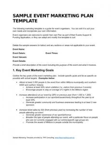 sample 9 event marketing plan examples  pdf doc  examples event publicity plan template