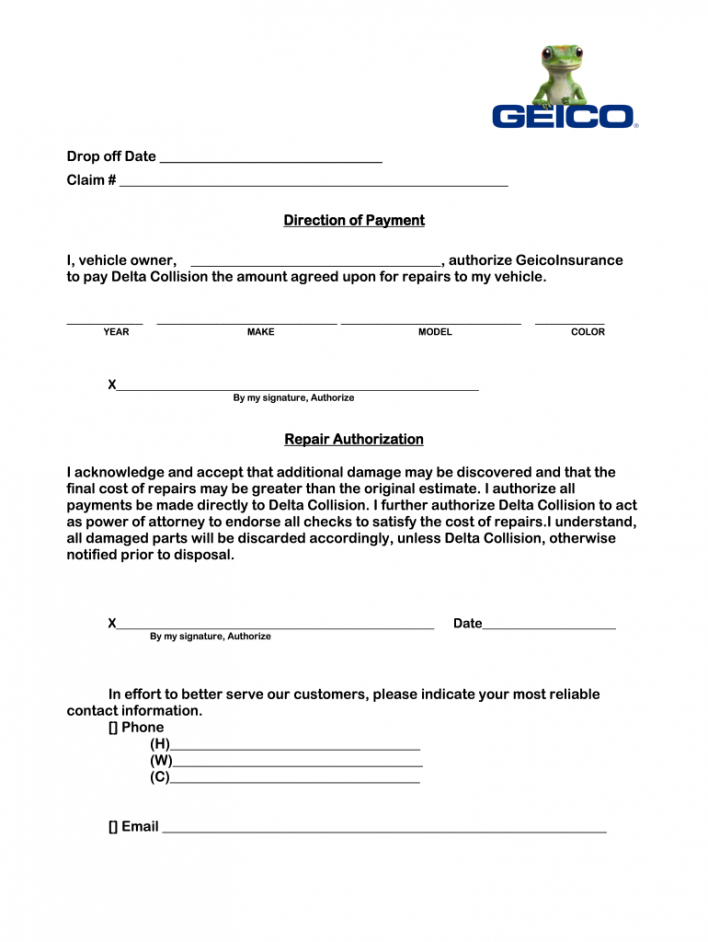 sample direction to pay form  fill out and sign printable pdf direction to pay template example