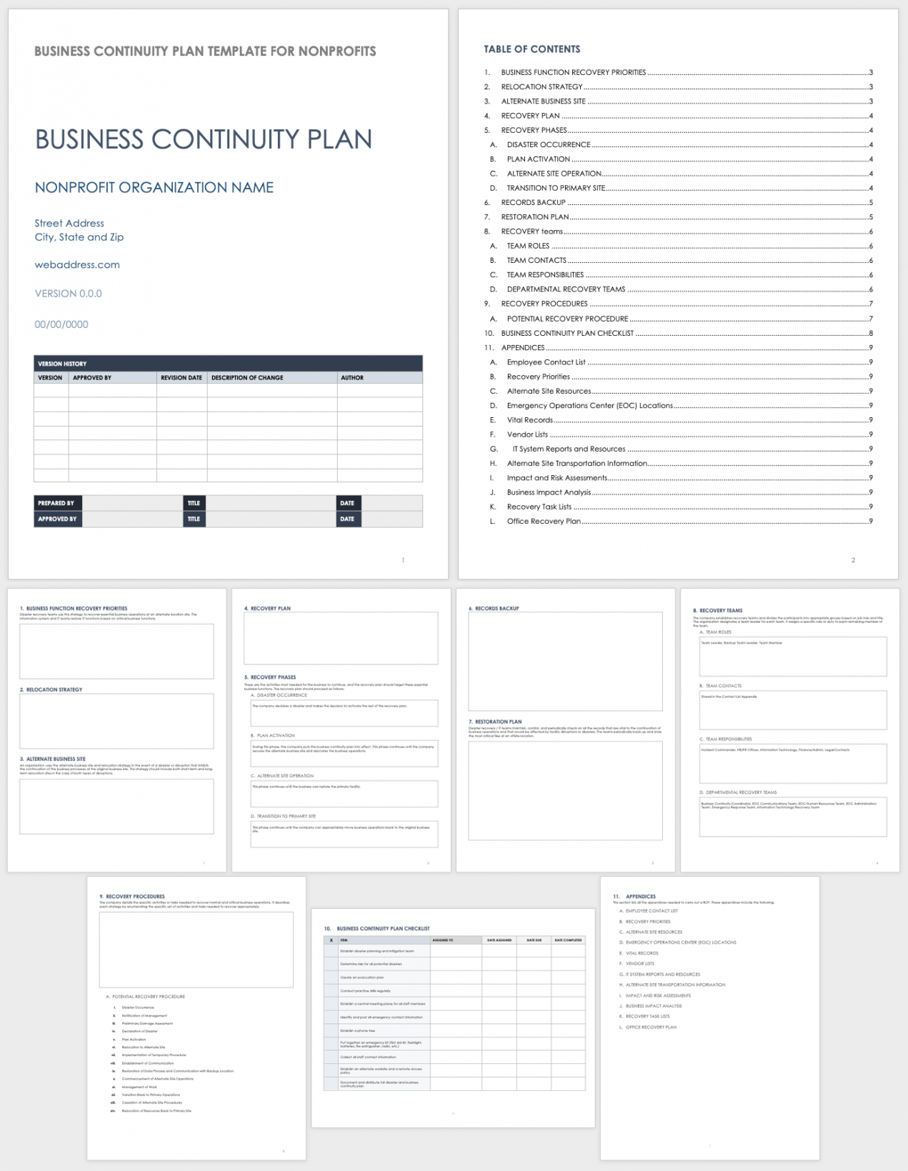 sample free business continuity plan templates  smartsheet law firm business continuity plan template excel