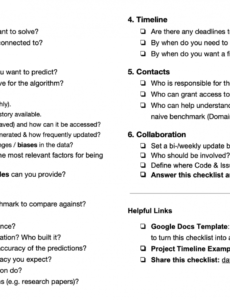 sample the machine learning project checklist markus schmitt data science project plan template excel