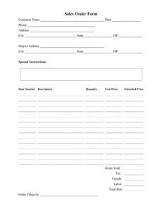 40 order form templates work order  change order  more jewelry order form template pdf