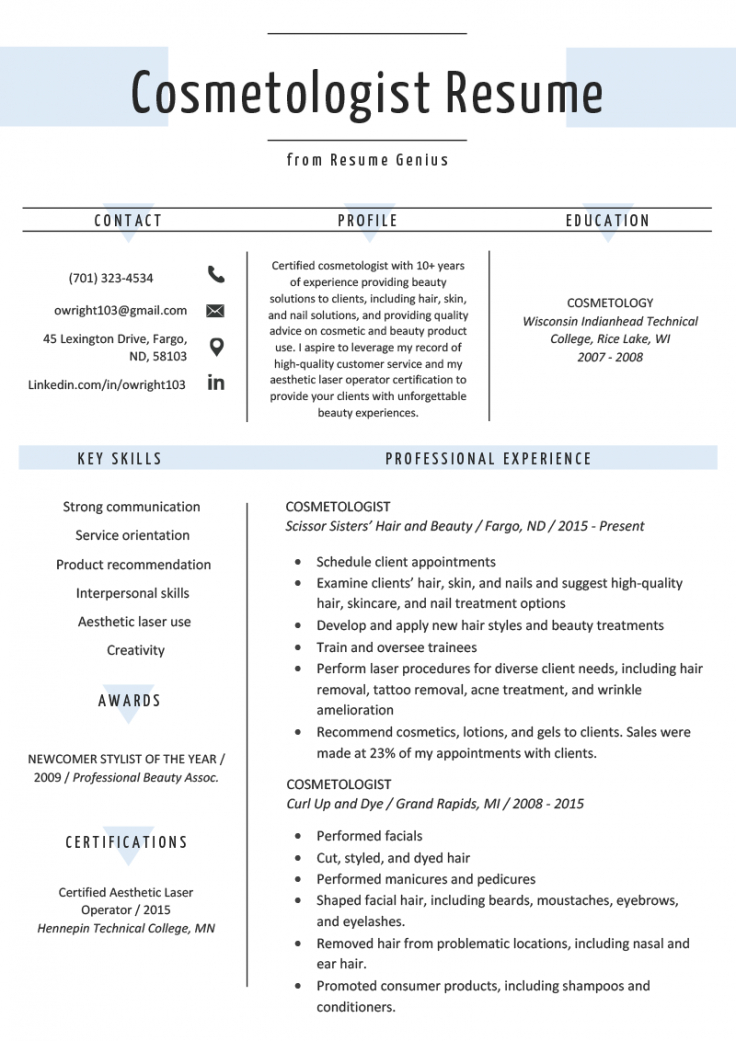 chronological resume  template examples & writing guide chronological order resume template word