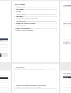 editable free disaster recovery plan templates  smartsheet website disaster recovery plan template example