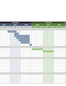 editable free gantt chart templates in excel & other tools  smartsheet bar chart schedule template word