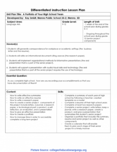 excellent differentiated instruction lesson plans 39 tiered school technology plan template doc