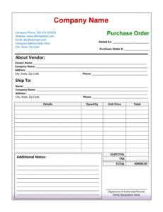 free 43 free purchase order templates in word excel pdf wholesale purchase order template word
