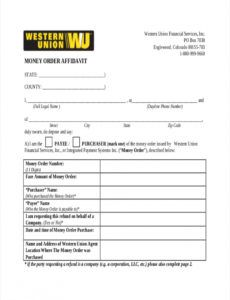 free 5 money order examples & samples in pdf  examples blank money order template