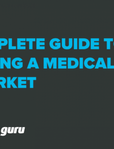 free complete guide to bringing a medical device to market medical device marketing plan template doc