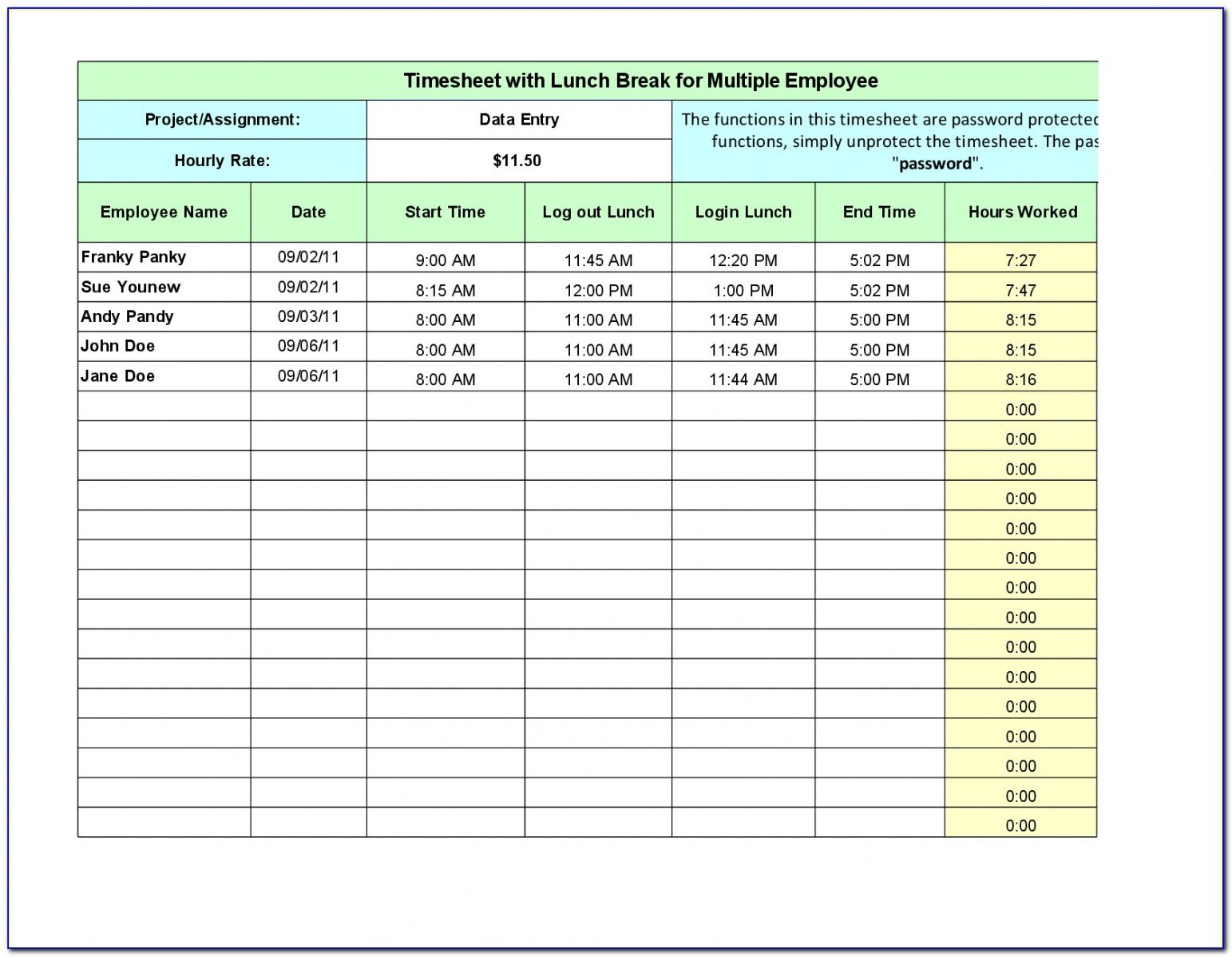 free employee lunch break schedule template  vincegray2014 lunch break schedule template pdf