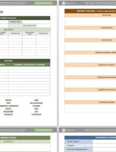 free product management templates smartsheet product management plan template excel