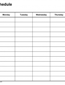 free weekly schedule templates for excel  18 templates college class schedule maker template sample