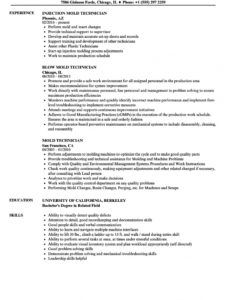 printable mold technician resume samples  velvet jobs mold remediation work plan template
