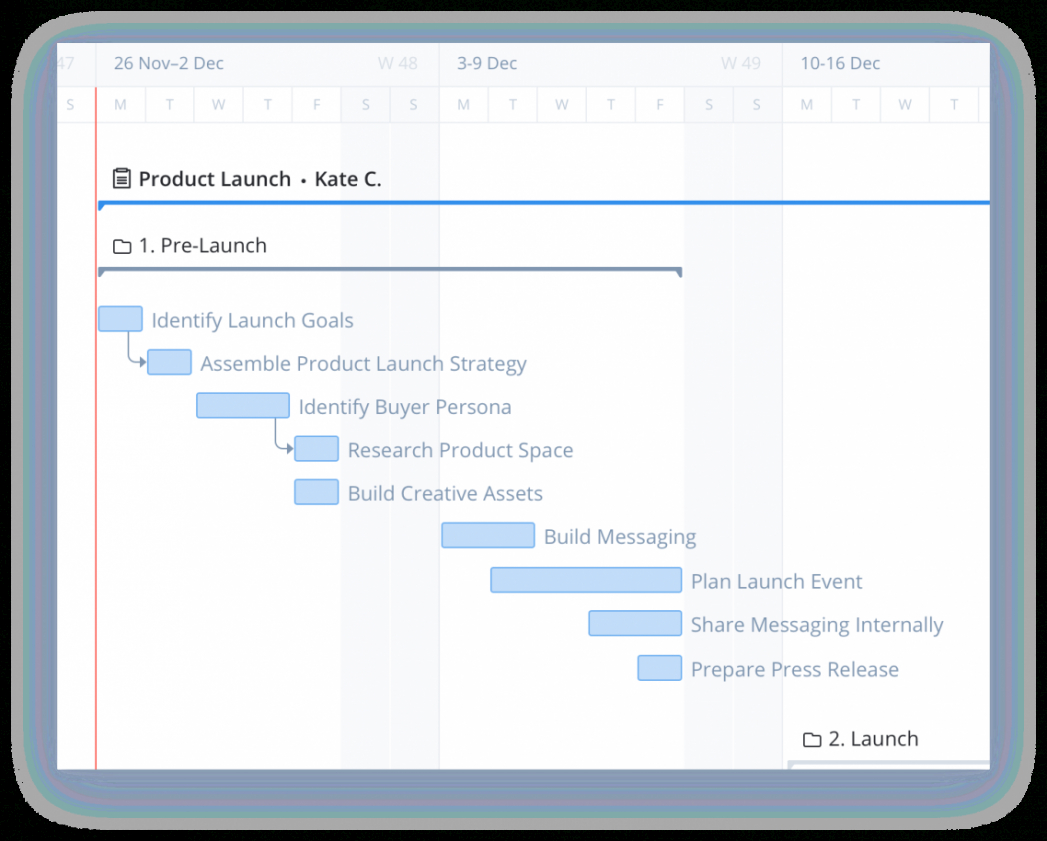 sample 4 things to keep in mind when building a product launch template product launch schedule template