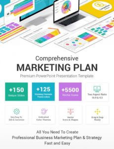sample best marketing plan powerpoint ppt template  slidesalad photography marketing plan template
