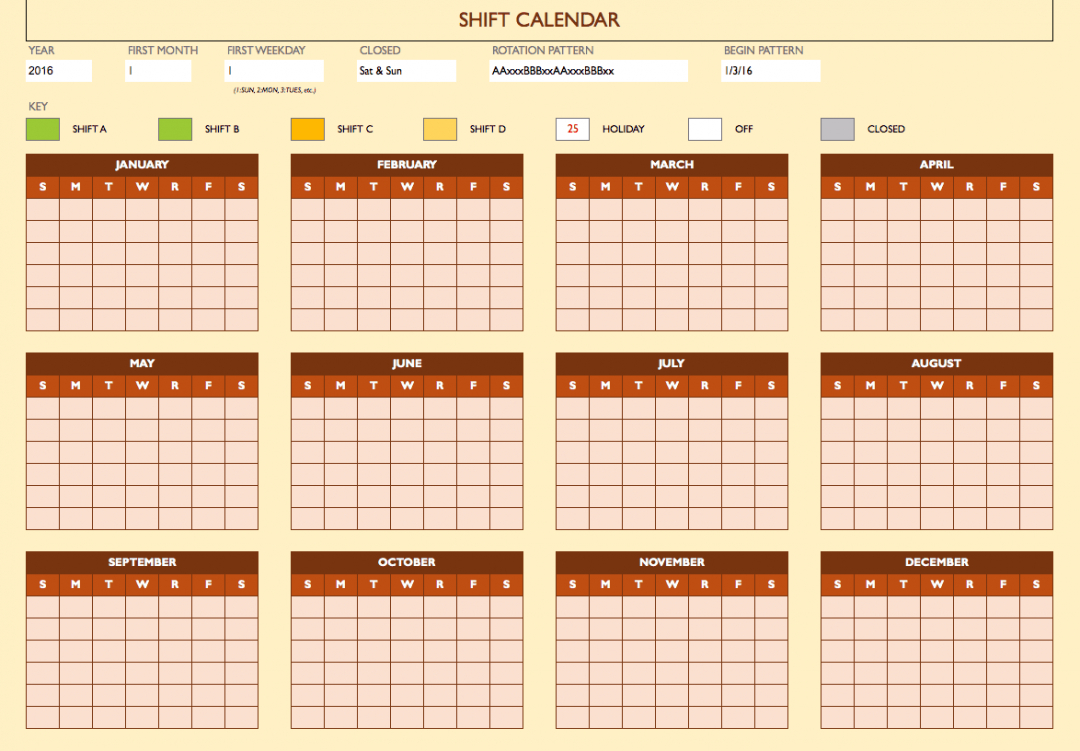 sample free work schedule templates for word and excel smartsheet employee work schedule calendar template sample