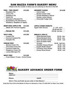 editable free 15 bakery order forms in pdf  excel pie order form template excel