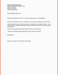 editable resignation letter format as sales executive giving notice sales resignation letter pdf