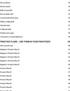 editable wrestling drills and practice plans  pdf free download wrestling practice schedule template pdf