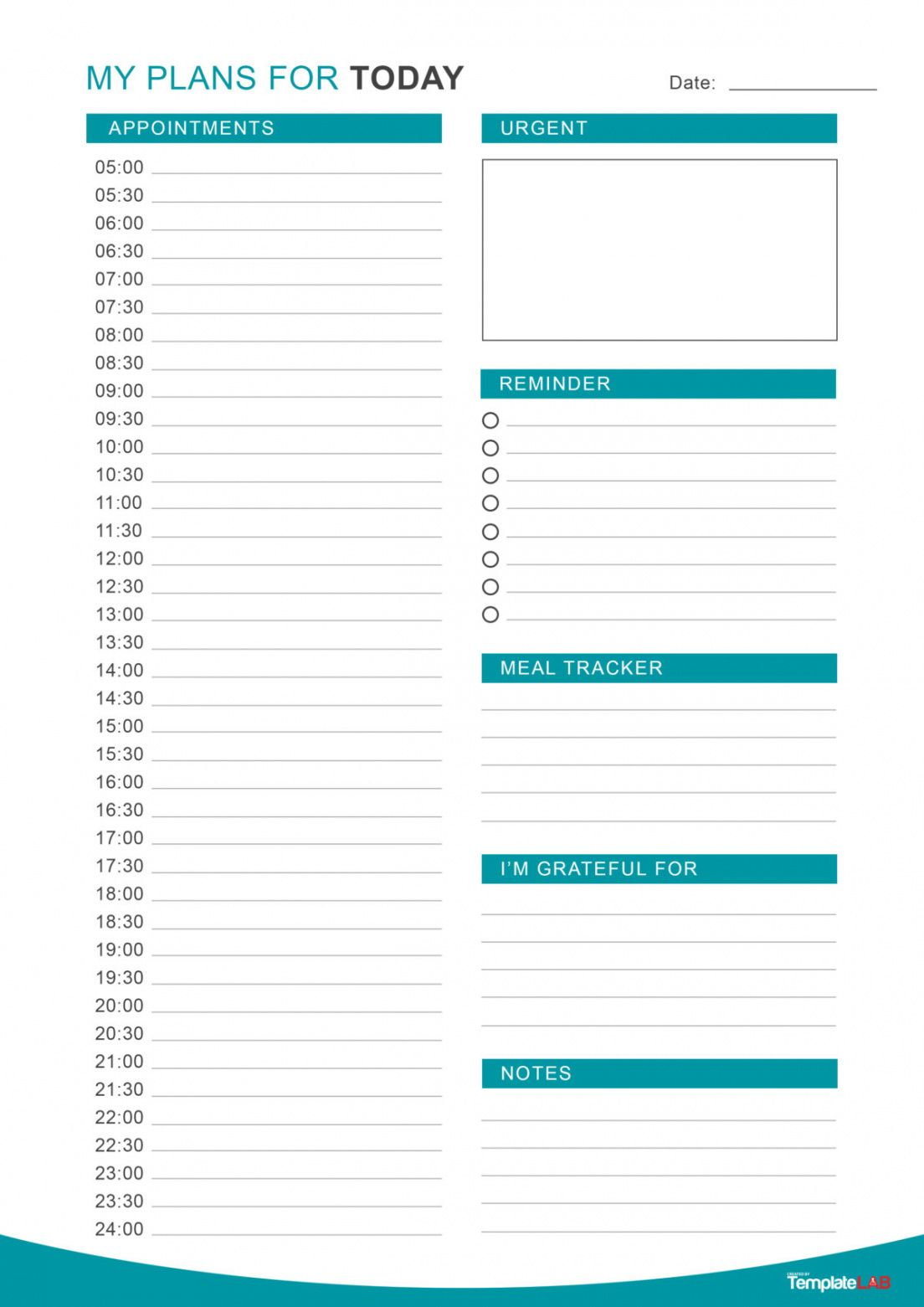 free 47 printable daily planner templates free in wordexcelpdf daily task schedule template sample