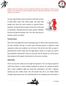 free fitness gym business plan template sample pages  black box gym business plan template word