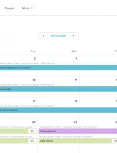 free video production schedule templates  teamgantt tv production schedule template example