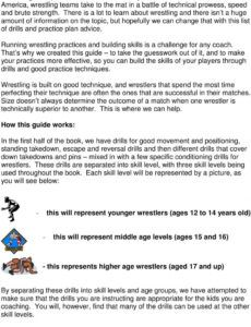 printable wrestling drills and practice plans  pdf free download wrestling practice schedule template pdf