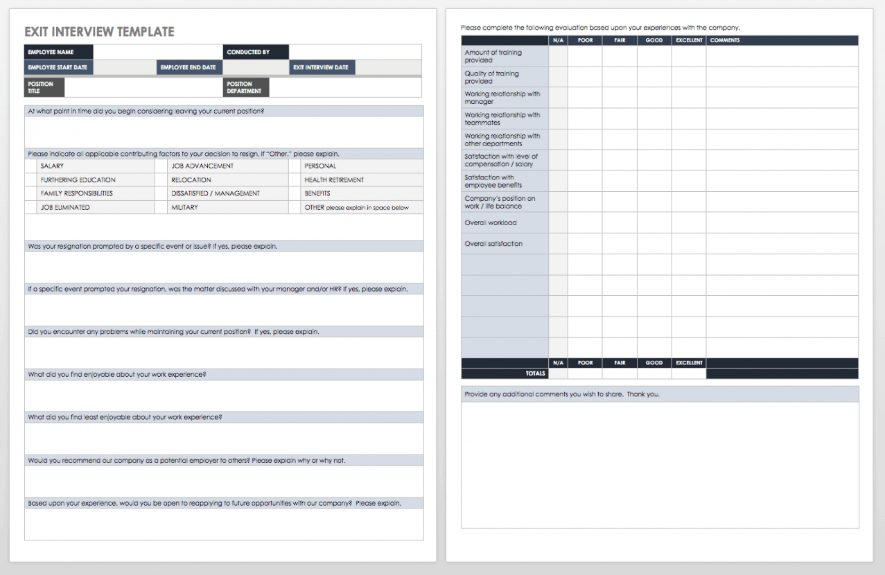 sample free interview templates and scorecards  smartsheet job interview schedule template excel