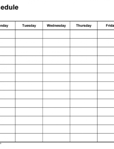 sample free weekly schedule templates for word  18 templates 8 period schedule template pdf