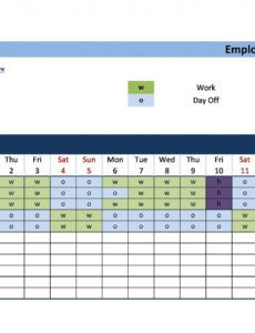 8 hour shift schedule template ~ addictionary 8 hour shift work schedule template pdf